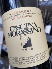 Cascina Morassino Barbaresco DOCG Morassino 2016 75cl