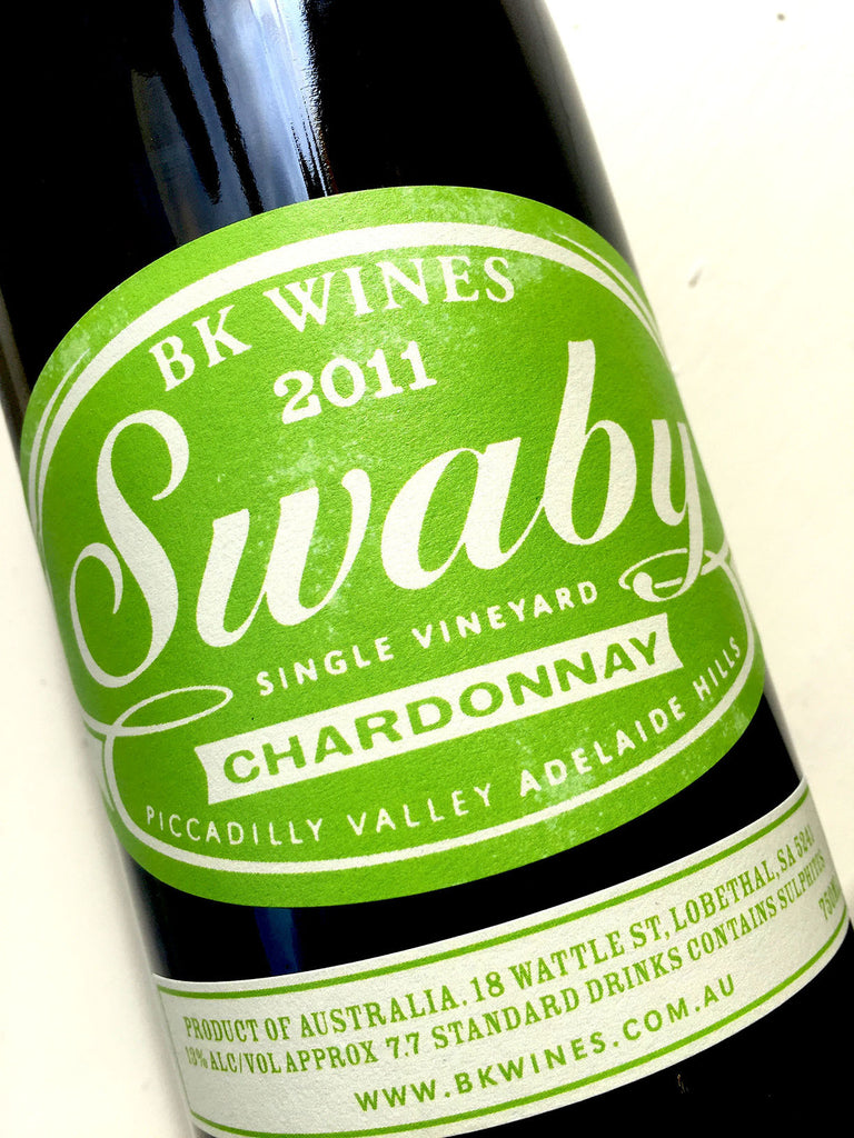 BK Wines Swaby Chardonnay 2011 75cl