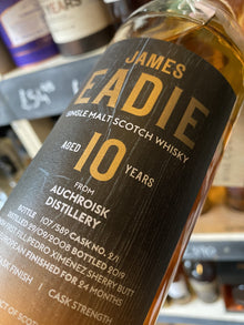 James Eadie Auchroisk 10 Year Pedro Ximinez 70cl