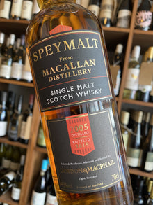 Speymalt from Macallan Gordon & Macphail 2005 70cl