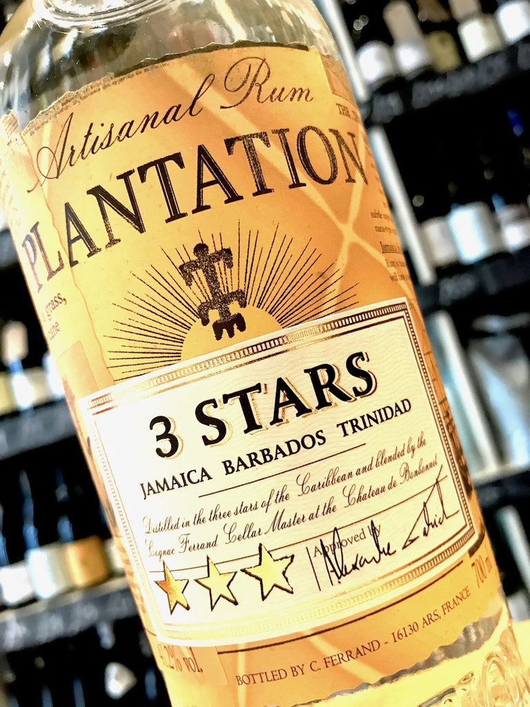 Plantation Three Stars White Rum 70cl