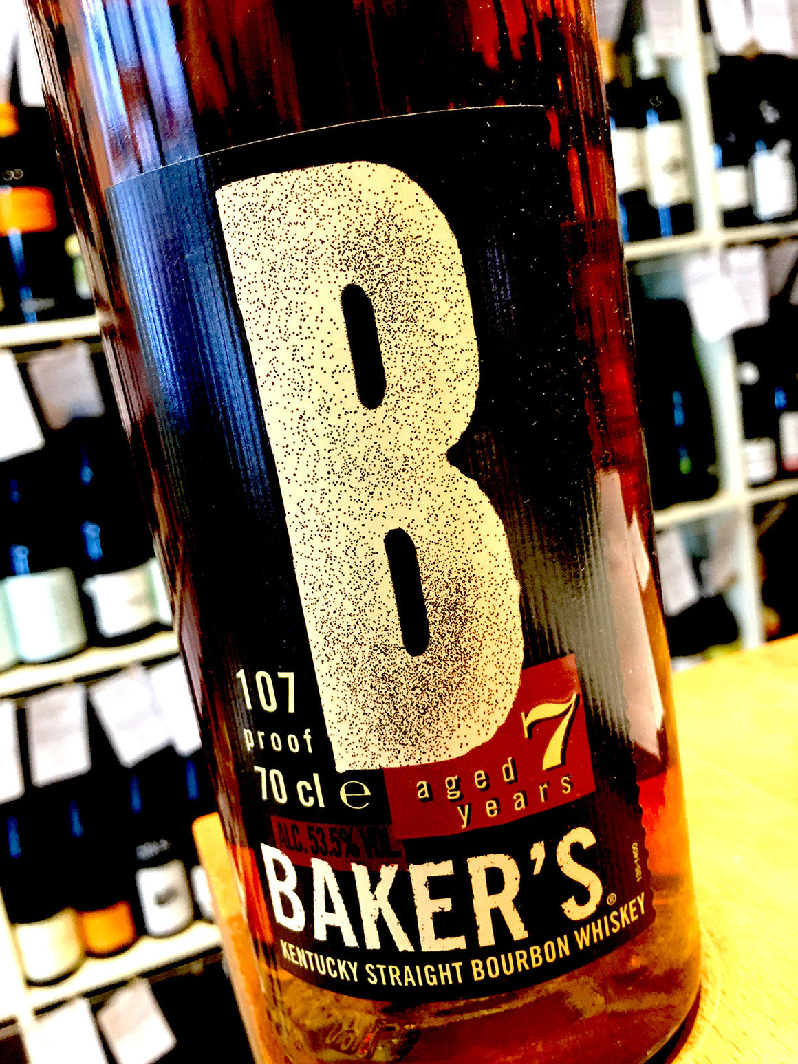 Bakers 7 Year Old Bourbon 70cl