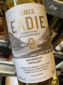 James Eadie Miltonduff 9Year Old 70cl