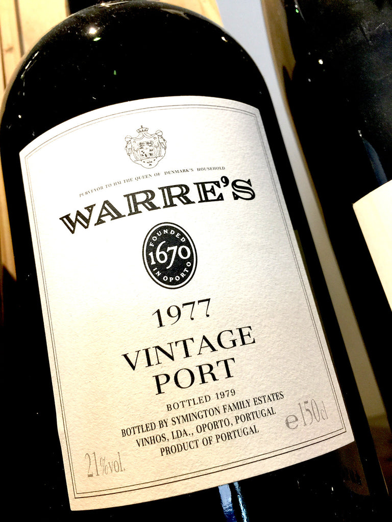 Warre's Vintage Port 1977 150cl