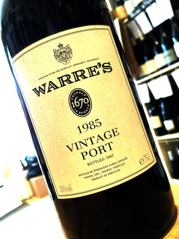 Warre's Vintage Port 1985 75cl