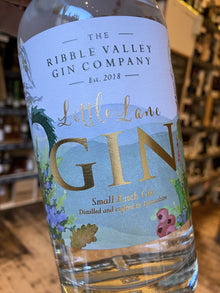 Ribble Valley Gin Co. Little Lane Gin 70cl