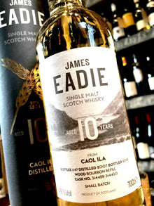 James Eadie Caol Ila 10 Year Old 70cl