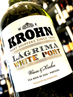 Krohn Lagrima White Port 75cl
