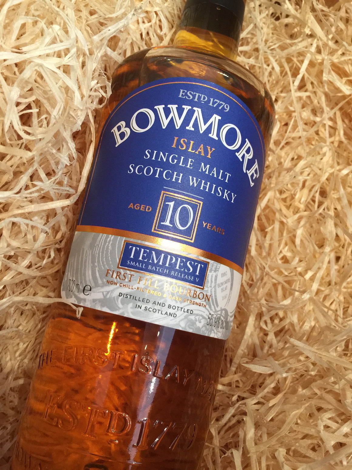 Bowmore Tempest 10 Year Old 5th Edition 70cl