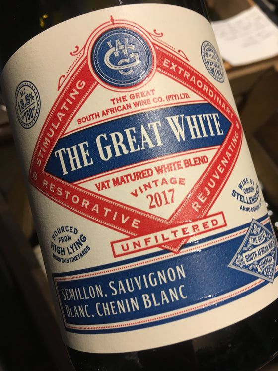 The Great SA Wine Co Great White 2017 75cl