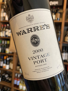 Warre's Vintage Port 2000 75cl
