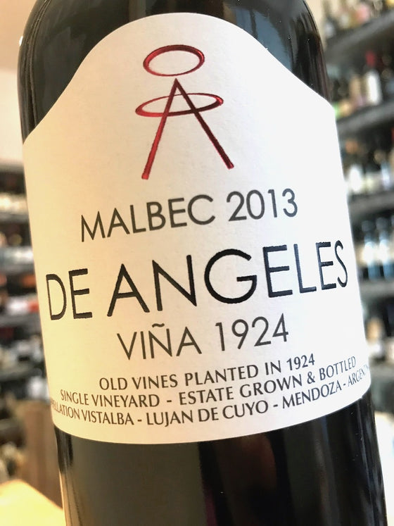 De Angeles Malbec 2013 75cl