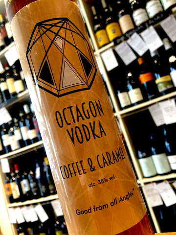 Octagon Vodka Coffee & Caramel Vodka 50cl