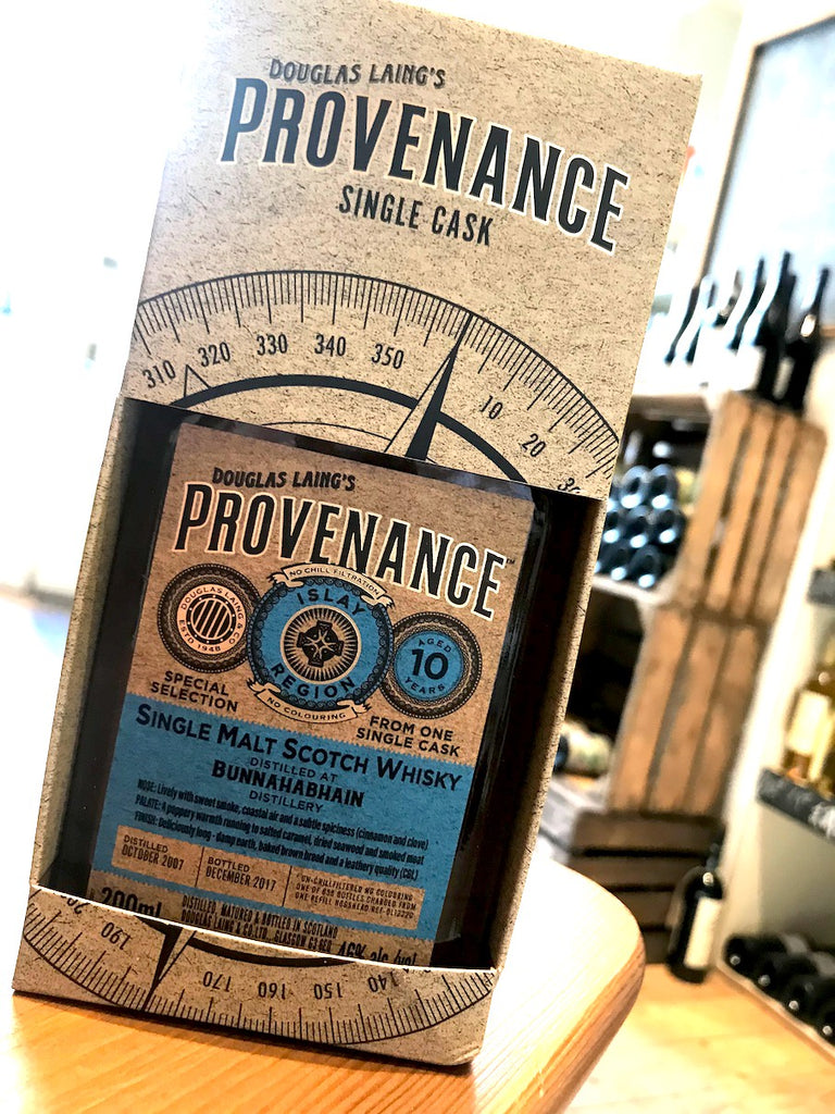Douglas Laing Bunnahabhain Provenance 10 Year Old 20cl