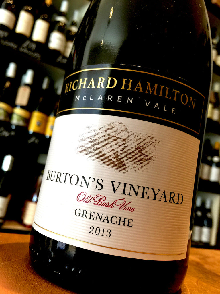 Richard Hamilton Burtons Vineyard Grenache 2013 75cl