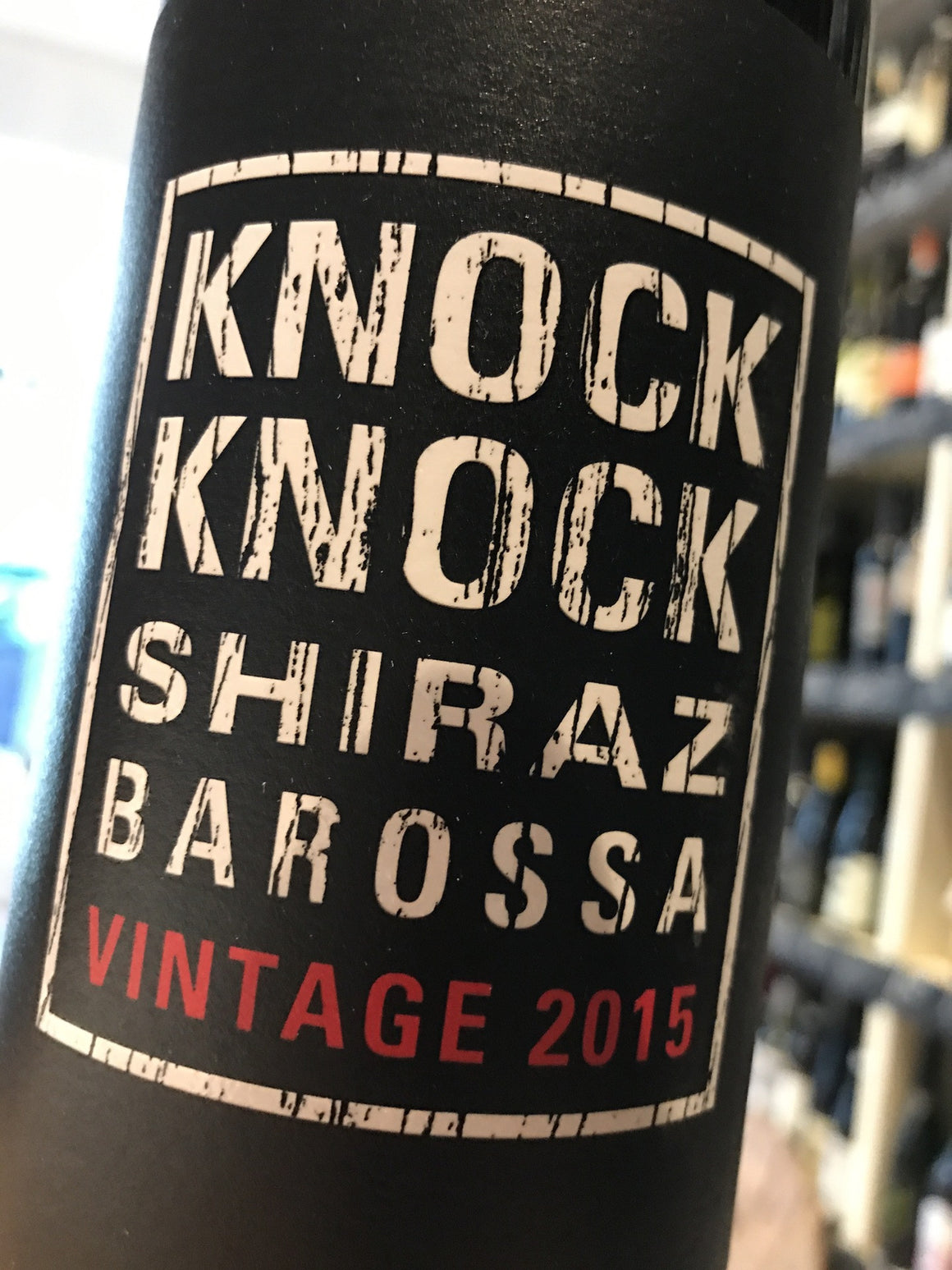 Magpie Knock Knock Shiraz 2015 75cl