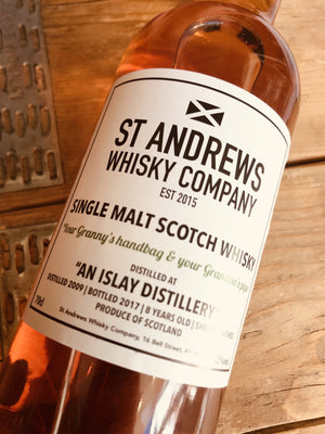 St Andrews Whisky Company 'Your Granny's Handbag & your Grandpa's pipe' 70cl