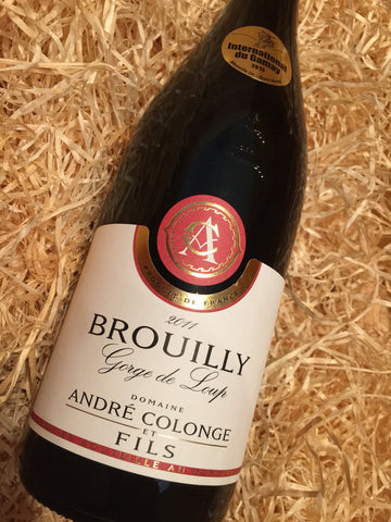 Domaine Andre Colonge Brouilly 2011 75cl