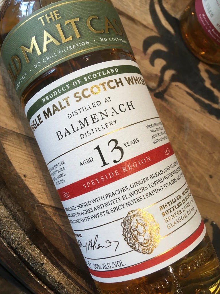 Hunter Laing Old Malt Cask Balmenach 2004 70cl