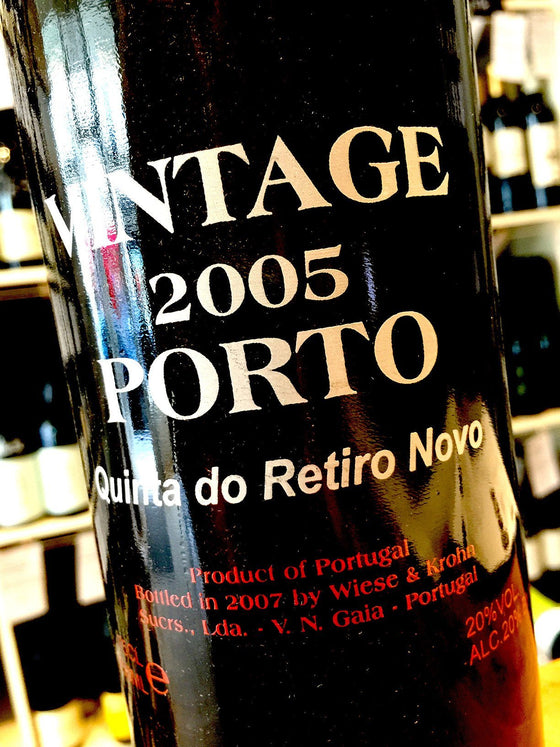 Krohn Quinta do Retiro Novo 2005 Wooden 6 bottle case