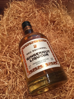 Red Squirrel Gingernut Liqueur 50cl