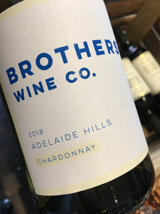 Brothers Wine Co. Chardonnay 2018 75cl