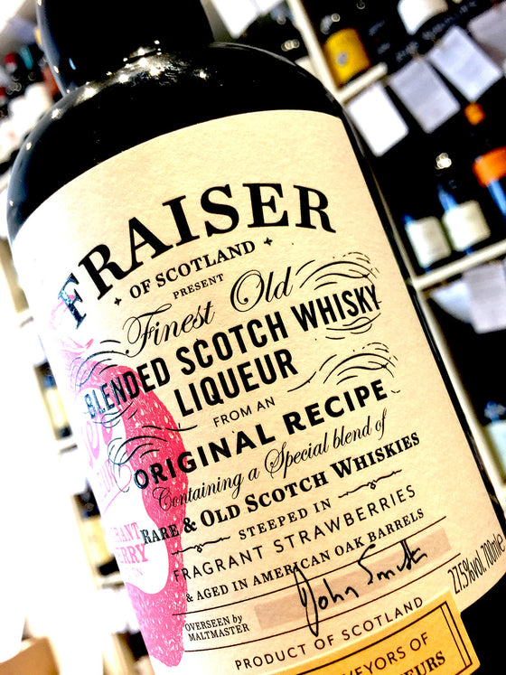 Fraiser Strawberry Whisky Liqueur 70cl