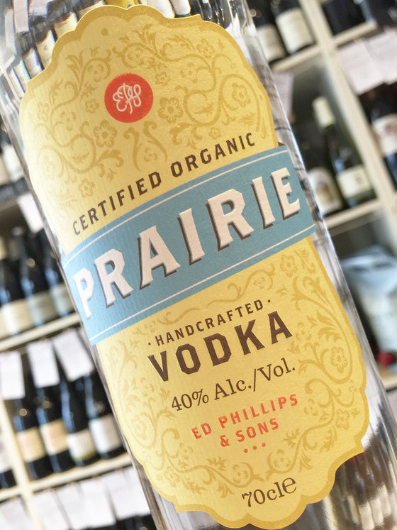 Prairie Organic Vodka 70cl