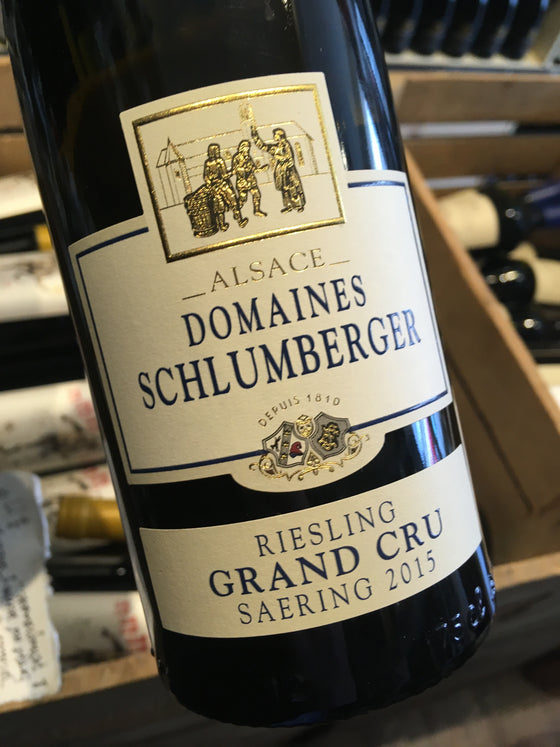 Domaines Schlumberger Riesling Grand Cru  Saering 2015 75cl