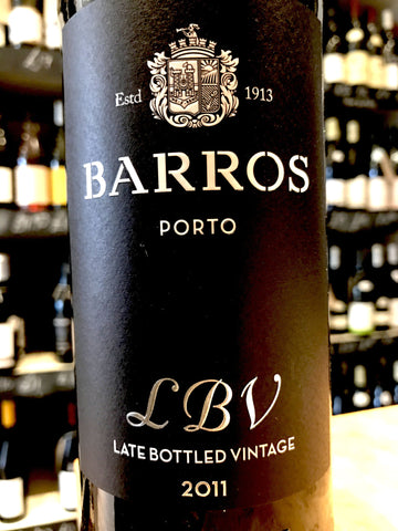 Barros Porto Late Bottled Vintage Port 2011 75cl