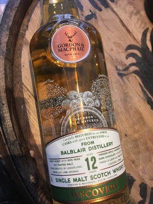 Gordon & Macphail Discovery Balblair 12 Year Old 70cl
