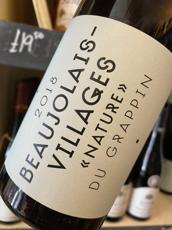 Du Grappin Beaujolais Villages Nature 2018 75cl