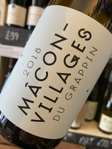 Du Grappin Macon-Villages 2018 75cl