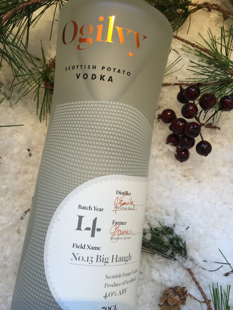 Ogilvy Spirits Scottish Potato Vodka 70cl