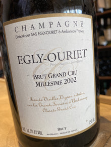 Egly Ouriet Grand Cru 2002 75cl