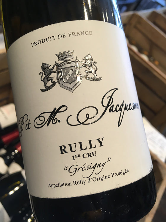Domaine Marie et Paul Jacqueson Rully 1er Cru Gresigny 2016 75cl