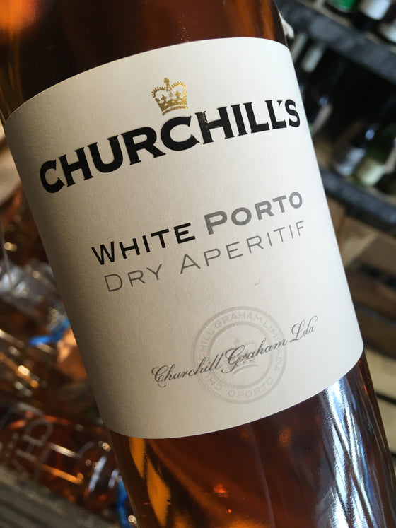 Churchills Dry White Port 50cl