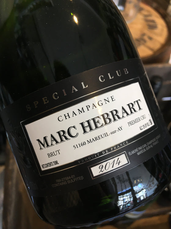 Champagne Marc Hebrart Special Club 2014 75cl