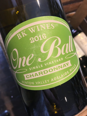 BK Wines One Ball Chardonnay 2017 75cl