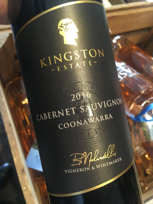 Kingston Estate Cabernet Sauvignon 2016 75cl