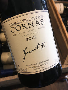 Domaine Vincent Paris Cornas Granit 30 2017 75cl