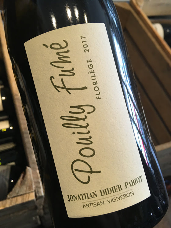 Jonathan Didier Pabiot Pouilly Fume Florilege 2017 75cl
