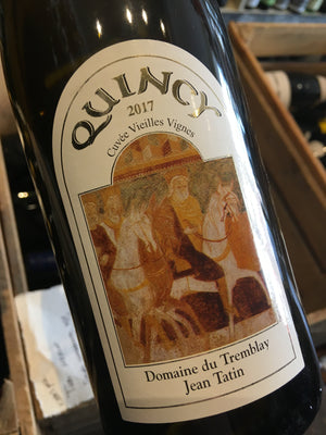 Domaines Tatin Quincy Vin Noble 2017 75cl