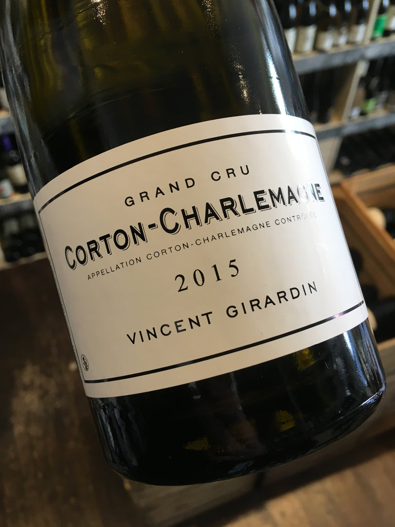 Vincent Girardin Corton Charlemagne 2015 75cl