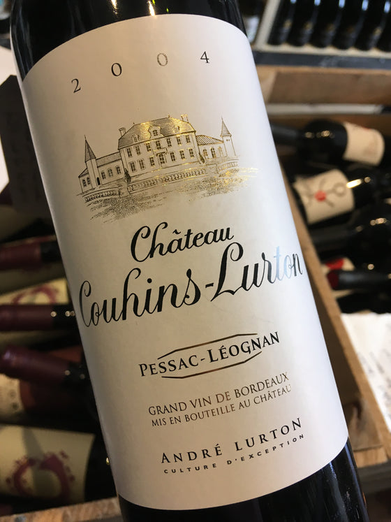 Chateau Couhins-Lurton Rouge 2004 75cl