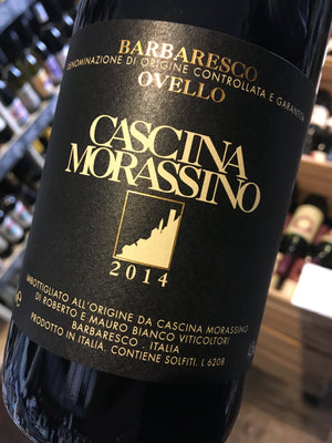 Cascina Morassino Barbaresco Ovello 2014 70cl