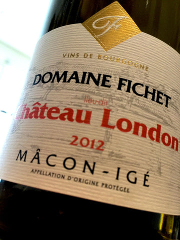 Domaine Fichet Macon Ige Chateau London 2012 75cl