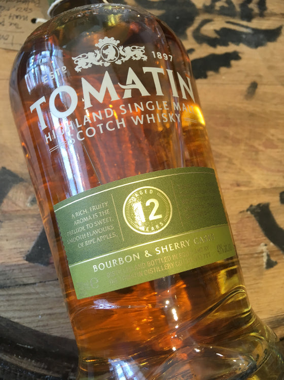Tomatin 12 Year Old 70cl