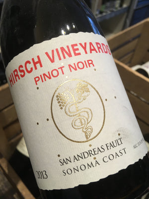 Hirsch Vineyards San Andreas Fault Pinot Noir 2013 75cl