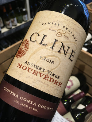 Cline Cellars Ancient Vines Mourvedre 2016 75cl